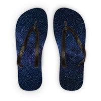A Galaxy Of Stars In The Sky Flip Flops S Accessories
