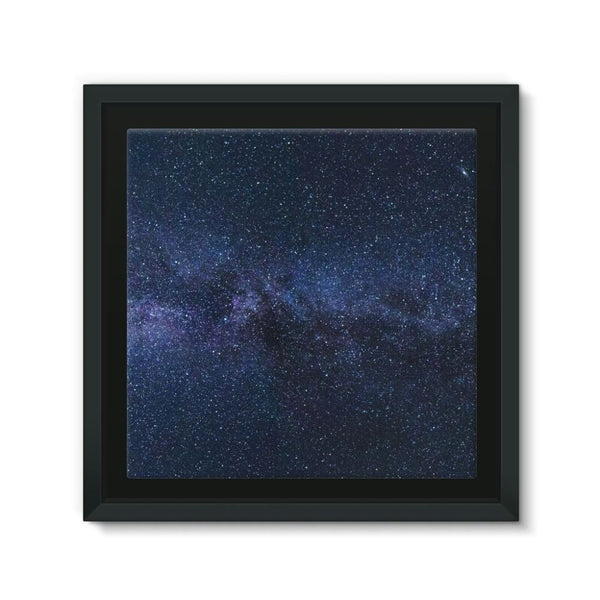 A Galaxy Of Stars In The Sky Framed Eco-Canvas 10X10 Wall Decor