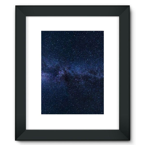 A Galaxy Of Stars In The Sky Framed Fine Art Print 12X16 / Black Wall Decor