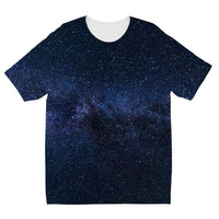 A Galaxy Of Stars In The Sky Kids Sublimation T-Shirt 3-4 Years Apparel