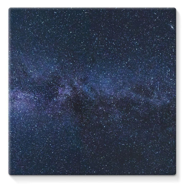 A Galaxy Of Stars In The Sky Stretched Canvas 10X10 Wall Decor