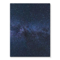 A Galaxy Of Stars In The Sky Stretched Canvas 12X16 Wall Decor