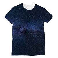 A Galaxy Of Stars In The Sky Sublimation T-Shirt Xs Apparel