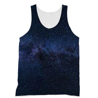 A Galaxy Of Stars In The Sky Sublimation Vest Xs Apparel