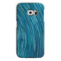 Abstract Blue Starry Sky Phone Case Galaxy S6 Edge / Snap Gloss & Tablet Cases