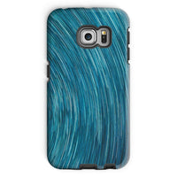 Abstract Blue Starry Sky Phone Case Galaxy S6 Edge / Tough Gloss & Tablet Cases