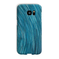 Abstract Blue Starry Sky Phone Case Galaxy S7 Edge / Snap Gloss & Tablet Cases