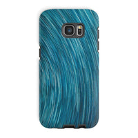Abstract Blue Starry Sky Phone Case Galaxy S7 Edge / Tough Gloss & Tablet Cases