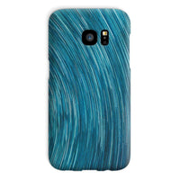 Abstract Blue Starry Sky Phone Case Galaxy S7 / Snap Gloss & Tablet Cases