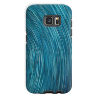 Abstract Blue Starry Sky Phone Case Galaxy S7 / Tough Gloss & Tablet Cases