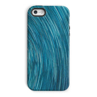 Abstract Blue Starry Sky Phone Case Iphone 5/5S / Tough Gloss & Tablet Cases
