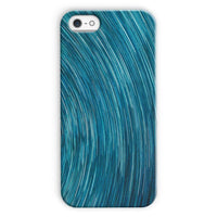 Abstract Blue Starry Sky Phone Case Iphone 5C / Snap Gloss & Tablet Cases