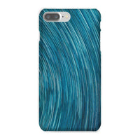 Abstract Blue Starry Sky Phone Case Iphone 8 Plus / Snap Gloss & Tablet Cases