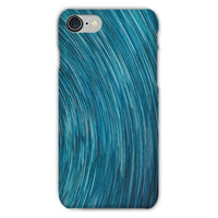 Abstract Blue Starry Sky Phone Case Iphone 8 / Snap Gloss & Tablet Cases