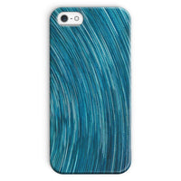 Abstract Blue Starry Sky Phone Case Iphone Se / Snap Gloss & Tablet Cases