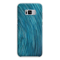 Abstract Blue Starry Sky Phone Case Samsung S8 Plus / Snap Gloss & Tablet Cases