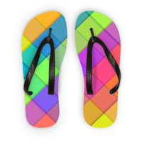 Abstract Colourful Desing Flip Flops S Accessories