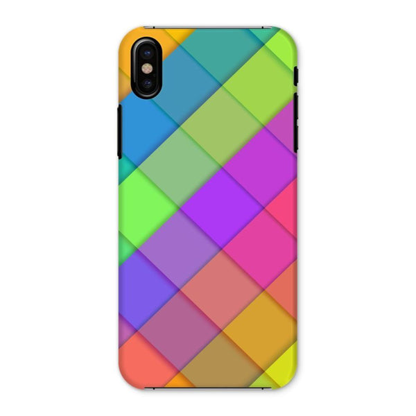 Abstract Colourful Desing Phone Case Iphone X / Snap Gloss & Tablet Cases