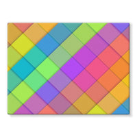 Abstract Colourful Desing Stretched Eco-Canvas 24X18 Wall Decor