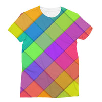 Abstract Colourful Desing Sublimation T-Shirt S Apparel