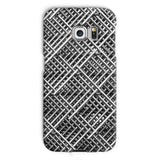 Abstract Gray Geometrical Phone Case Galaxy S6 Edge / Snap Gloss & Tablet Cases