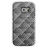 Abstract Gray Geometrical Phone Case Galaxy S6 Edge / Tough Gloss & Tablet Cases