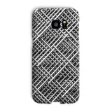 Abstract Gray Geometrical Phone Case Galaxy S7 Edge / Snap Gloss & Tablet Cases