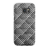 Abstract Gray Geometrical Phone Case Galaxy S7 Edge / Tough Gloss & Tablet Cases