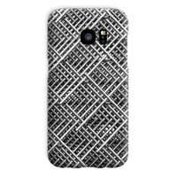 Abstract Gray Geometrical Phone Case Galaxy S7 / Snap Gloss & Tablet Cases