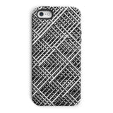 Abstract Gray Geometrical Phone Case Iphone 5/5S / Tough Gloss & Tablet Cases