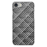 Abstract Gray Geometrical Phone Case Iphone 8 / Snap Gloss & Tablet Cases