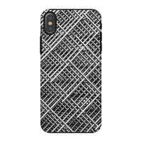 Abstract Gray Geometrical Phone Case Iphone X / Tough Gloss & Tablet Cases