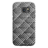 Abstract Gray Geometrical Phone Case Galaxy S7 / Tough Gloss & Tablet Cases