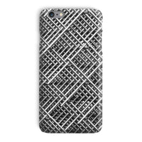 Abstract Gray Geometrical Phone Case Iphone 6 Plus / Snap Gloss & Tablet Cases