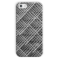 Abstract Gray Geometrical Phone Case Iphone 5/5S / Snap Gloss & Tablet Cases