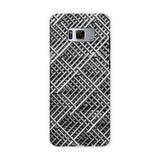 Abstract Gray Geometrical Phone Case Samsung S8 / Tough Gloss & Tablet Cases