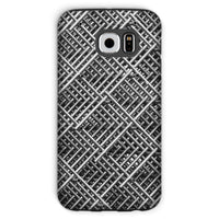 Abstract Gray Geometrical Phone Case Galaxy S6 / Tough Gloss & Tablet Cases
