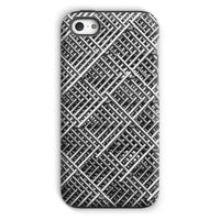 Abstract Gray Geometrical Phone Case Iphone 5C / Tough Gloss & Tablet Cases