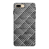Abstract Gray Geometrical Phone Case Iphone 8 Plus / Tough Gloss & Tablet Cases