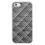 Abstract Gray Geometrical Phone Case Iphone 5C / Snap Gloss & Tablet Cases