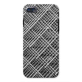 Abstract Gray Geometrical Phone Case Iphone 8 / Tough Gloss & Tablet Cases