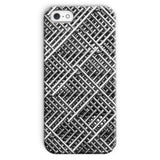 Abstract Gray Geometrical Phone Case Iphone Se / Snap Gloss & Tablet Cases