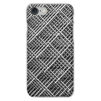 Abstract Gray Geometrical Phone Case Iphone 7 / Snap Gloss & Tablet Cases
