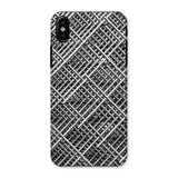 Abstract Gray Geometrical Phone Case Iphone X / Snap Gloss & Tablet Cases