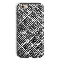 Abstract Gray Geometrical Phone Case Iphone 6 / Tough Gloss & Tablet Cases