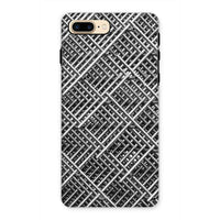 Abstract Gray Geometrical Phone Case Iphone 7 Plus / Tough Gloss & Tablet Cases
