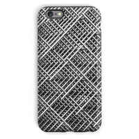 Abstract Gray Geometrical Phone Case Iphone 6S Plus / Tough Gloss & Tablet Cases