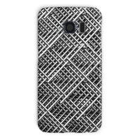 Abstract Gray Geometrical Phone Case Galaxy S6 / Snap Gloss & Tablet Cases
