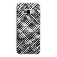 Abstract Gray Geometrical Phone Case Samsung S8 Plus / Snap Gloss & Tablet Cases