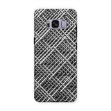 Abstract Gray Geometrical Phone Case Samsung S8 Plus / Tough Gloss & Tablet Cases